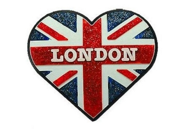 custom Glitter London Souvenir Magnet wholesale manufacturer and supplier in China