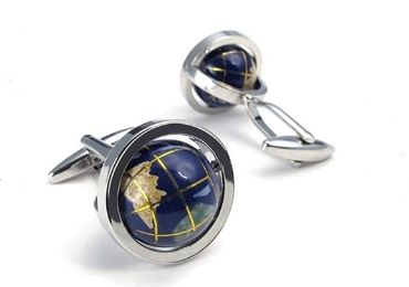custom Globe Earth Cufflinks wholesale manufacturer and supplier in China