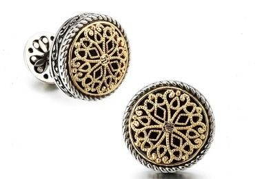 custom Gold Plated Cufflinks wholesale manufacturer and supplier in China