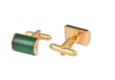 custom Green Jade Cufflinks wholesale manufacturer and supplier in China