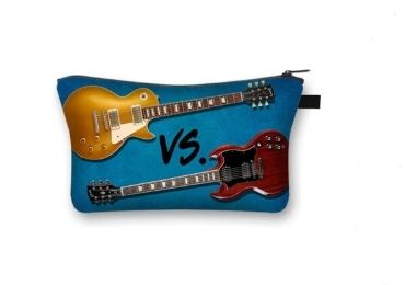 custom Guitar Cosmetic Bag wholesale manufacturer and supplier in China