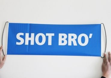 custom Hand Scroll Football Banner wholesale manufacturer and supplier in China