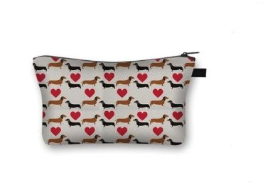 custom Heart Cosmetic Bag wholesale manufacturer and supplier in China