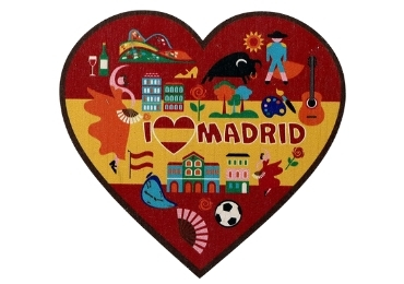 custom Heart Shape Madrid Coaster wholesale manufacturer and supplier in China