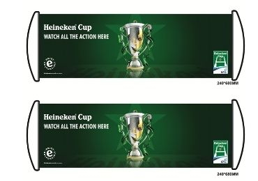 custom Heineken Football Banner wholesale manufacturer and supplier in China
