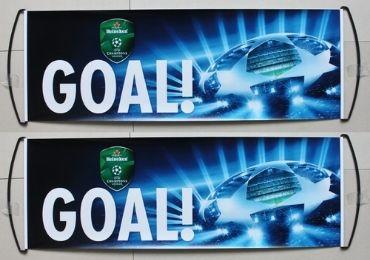 custom Heineken Retractable Banner wholesale manufacturer and supplier in China