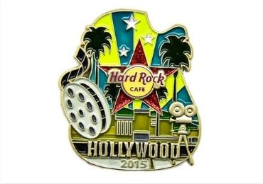 custom Hollywood Enamel Lapel Pin wholesale manufacturer and supplier in China
