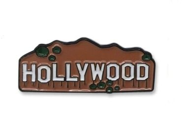 custom Hollywood Enamel Pin wholesale manufacturer and supplier in China