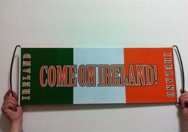 custom Ireland Marathon Banner wholesale manufacturer and supplier in China