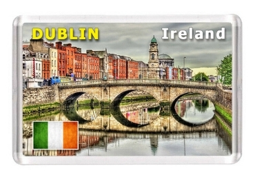 custom Ireland Souvenir Acrylic Magnet wholesale manufacturer and supplier in China