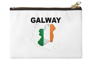 custom Ireland Souvenir Cosmetic Bag wholesale manfuacturer and supplier in China
