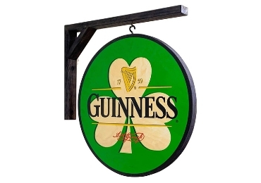 custom Ireland Souvenir Guinness Sign wholesale manufacturer and supplier in China