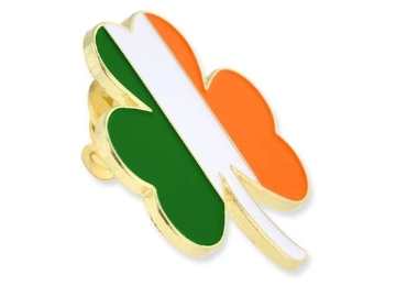 custom Ireland Souvenir Lapel Pin wholesale manufacturer and supplier in China