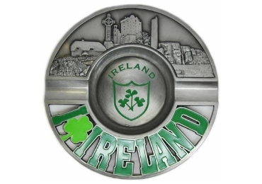 custom Ireland Souvenir Metal Ashtray wholesale manufacturer and supplier in China
