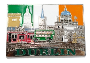 custom Ireland Souvenir Metal Magnet wholesale manufacturer and supplier in China