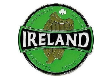 custom Ireland Souvenir Pin wholesale manufacturer and supplier in China