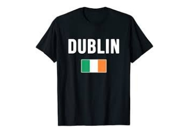 custom Ireland Souvenir T-shirt wholesale manufacturer and supplier in China