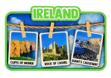 custom Ireland Souvenir Wood Magnet wholesale manufacturer and supplier in China