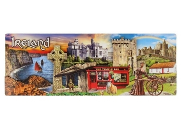 custom Ireland Souvenir Wooden Magnet wholesale manufacturer and supplier in China