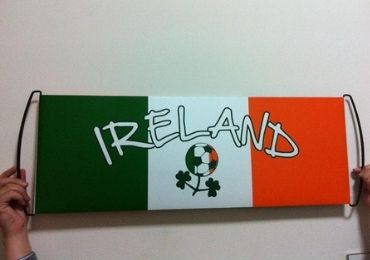 custom Ireland Sports Banner wholesale manufacturer and supplier in China
