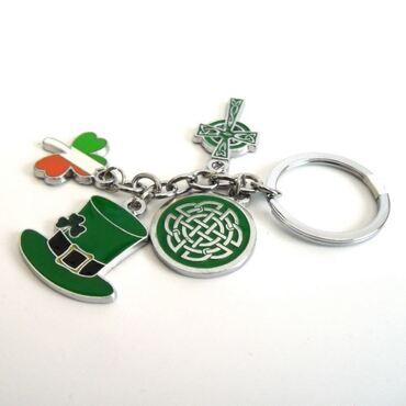 custom Irish Souvenir Keychain wholesale manufacturer and supplier in China