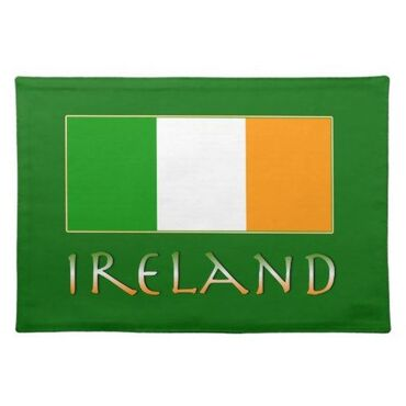 custom Irish Souvenir Placemat wholesale manufacturer and supplier in China