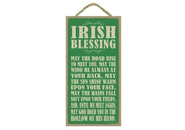 custom Irish Souvenir Wooden Sign wholesale manufacturer and supplier in China