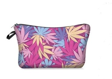 custom Leaves Cosmetic Bag wholesale manufacturer and supplier in China