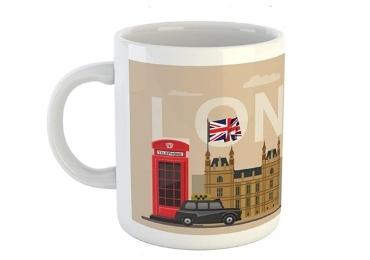 custom London Souvenir Ceramic Mug wholesale manufacturer and supplier in China