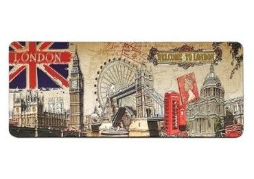 custom London Souvenir Foil Magnet wholesale manufacturer and supplier in China