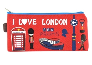 custom London Souvenir Pencil Case wholesale manufacturer and supplier in China
