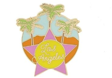 custom Los Angeles Pin wholewsale manufacturer and supplier in China