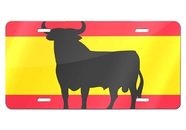 custom Madrid License Plate wholesale manufacturer and supplier in China