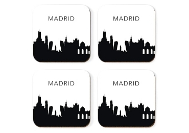custom Madrid Souvenir Coaster wholesale manufacturer and supplier in China