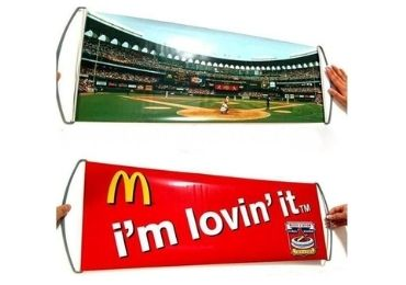 custom McDonald's Advertising Banner wholesale manufacturer and supplier in China
