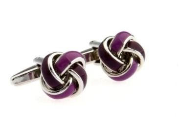 custom Metal Knot Cufflinks wholesale manufacturer and supplier in China
