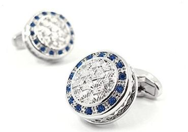custom Modern Round Cufflinks wholesale manufacturer and supplier in China