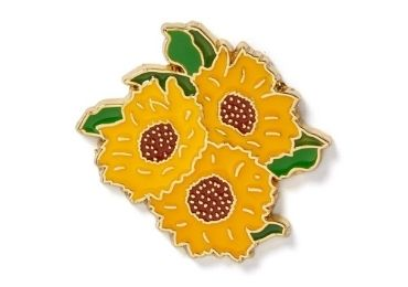 custom Monet Enamel Lapel Pin wholesale manufacturer and supplier in China