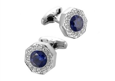 custom Navy Blue Cufflinks wholesale manufacturer and supplier in China