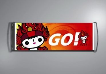custom Olympic Sports Fan Banner wholesale manufacturer and supplier in China
