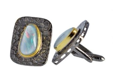 custom Opal Cufflinks wholesale manufacturer and supplier in China