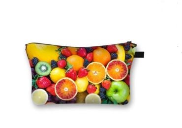 custom Orange Cosmetic Bag wholesale manufacturer and supplier in China