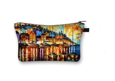 custom Painting Cosmetic Bag wholesale manufacturer and supplier in China