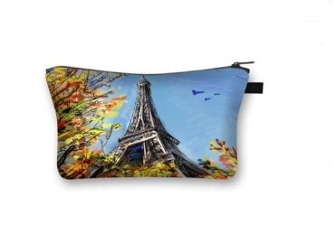 custom Paris Cosmetic Bag wholesale manufacturer and supplier in China