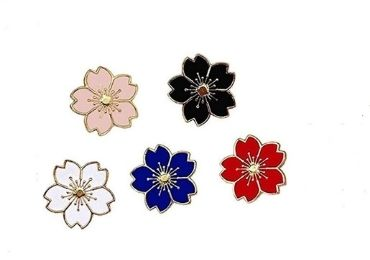 custom Plum Blossom Pin wholesale manufacturer and supplier in China