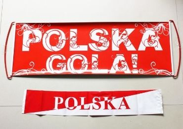 custom Poland Cheering Banner Set wholesale manufacturer and supplier in China