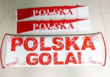 custom Poland Fan PET Banner wholesale manufacturer and supplier in China