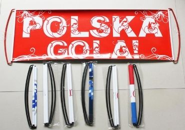custom Polska Football Banner wholesale manufacturer and supplier in China