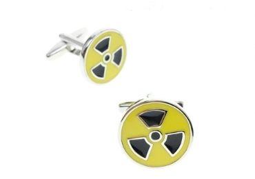 custom Radioactive Cufflinks wholesale manufacturer and supplier in China