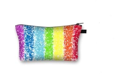 custom Rainbow Cosmetic Bag wholesale manufacturer and supplier in China